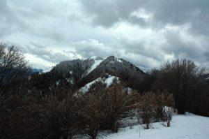 Crête du Mont Chardonnet au Mont Morbié Massif des Bauges