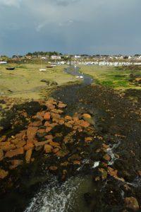 Moulin à marée de Randreuz<br> La Côte de granite rose