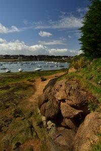 Baie de Ploumanac'h<br> Sentier des douaniers<br> La Côte de granite rose