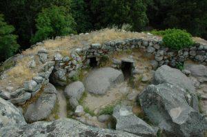 Site archéologique de Cucuruzzu<br> Région de Solenzara<br> Corse Sud Est