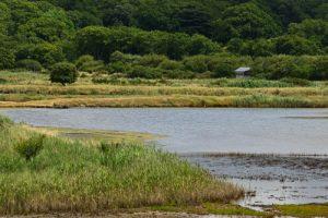 Poste d'Observation des oiseaux<br> L'Espace Naturel Sensible des Marais du Duer<br>  Parc Naturel Régional du Golfe du Morbihan