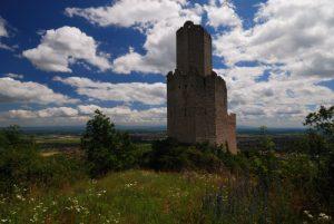 Château d'Ortenbourg du 13ième siècle<br> Massif des Vosges