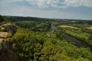 Le village médiéval fortifié de Domme<br> Réserve de Biosphère du Bassin de la Dordogne