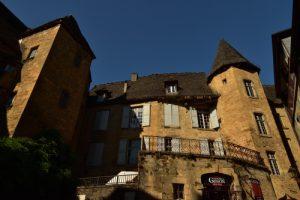 Le village Médiéval de Sarlat-la-Canéda<br> Réserve de Biosphère du Bassin de la Dordogne