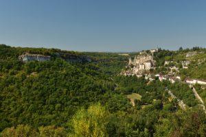 Le village Médiéval de Rocamadour<br> Réserve de Biosphère du Bassin de la Dordogne
