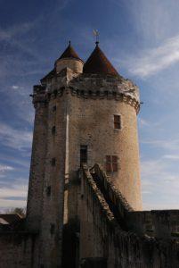 Château médiéval de Blandy-Les-Tours
