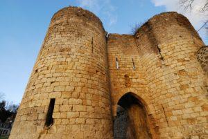 La Porte de Soissons ou de Saint-Martin du 13ième siècle<br> Ville médiévale de Laon