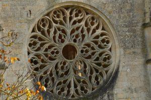 Rosace de l'Abbaye Notre-Dame de Lieu-Restauré<br> La Vallée de l'Automne