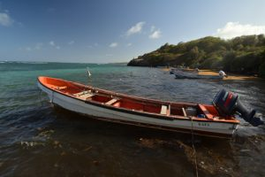 Le port de l'Anse Maroquet<br> La Pointe du Vauclin<br> Parc Naturel Régional de La Martinique