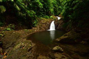 Cascade de la Rivière 3 Bras<br> Trace Prêcheur - Grand'Rivière<br> Parc Naturel Régional de La Martinique