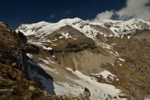 La Cascade de Saute-Aure<br> Massif du Dévoluy