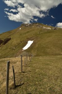 Col de la Croix<br> Chemin du Lac du Lauzon<br> Massif du Dévoluy