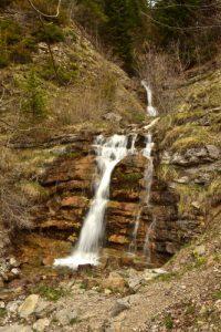 Cascade du Ravin Du Fleyrard<br> Chemin du Lac du Lauzon<br> Massif du Dévoluy