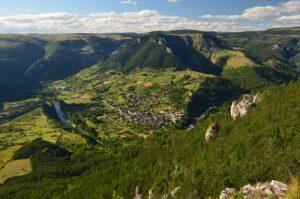 Le belvèdère du Single<br> Parc Naturel National des Cévennes