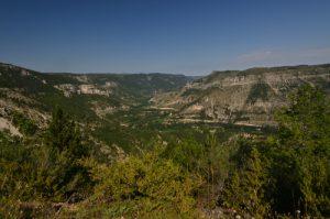 Corniche des gorges du Tarn<br> Le Causse Méjean<br> Parc Naturel National des Cévennes