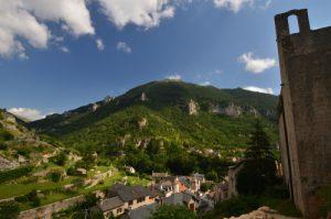 Village de Sainte-Enimie<br> Les gorges du Tarn<br> Parc Naturel National des Cévennes