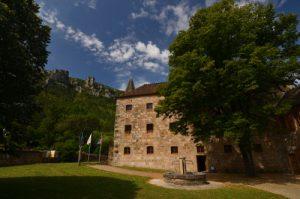 Le village de Florac<br> Les gorges du Tarn<br> Parc Naturel National des Cévennes
