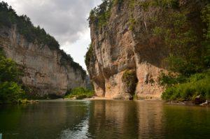 Les détroits des Gorges du Tarn<br> Parc Naturel National des Cévennes