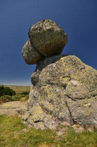 Chaos granitique près de la source de la rivière du Tarn<br> Le Mont Lozère<br> Parc Naturel National des Cévennes