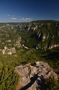 Le Point de vue du Point Sublime<br> Les Gorges du Tarn<br> Parc Naturel National des Cévennes