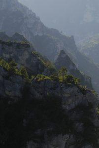 Point de vue du Roc des Hourtous<br> Parc Naturel National des Cévennes
