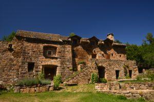 Le village de Malaval<br> La Cham des Bondons<br> Parc Naturel National des Cévennes