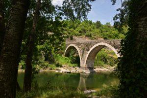 Le pont d'Ispagnac<br> Les Gorges du Tarn<br> Parc Naturel National des Cévennes