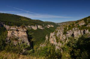 Rochers de Capelan<br> Le Causse Méjean<br> Parc Naturel National des Cévennes