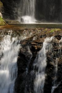 La Cascade de Runes<br> Le Mont Lozère<br> Parc Naturel National des Cévennes