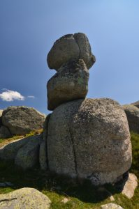 Chaos granitique<br> Le Mont Lozère<br> Parc Naturel National des Cévennes