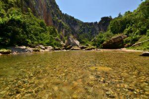 Le Pas de Souci<br> Les Gorges du Tarn<br> Parc Naturel National des Cévennes