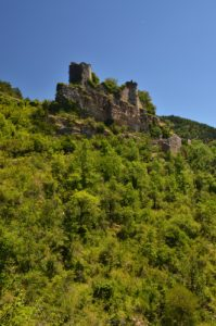 Château de Montméjean<br> Le Causse Noir<br> Parc Naturel Régional des Grands Causses
