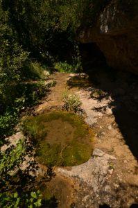 Fontaine de Montméjean<br> Le Causse Noir<br> Parc Naturel Régional des Grands Causses