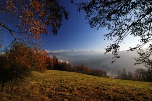 La vire de la Ferrière<br> Parc Naturel Régional du Vercors