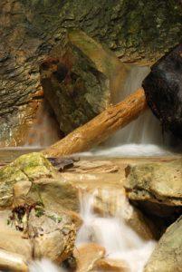 Gorges du Rio sourd<br> Les Gorges du Gats<br> Parc Naturel Régional du Vercors