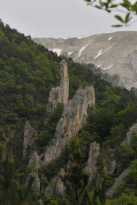Les Sucettes de Borne<br> Parc Naturel Régional du Vercors