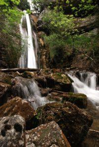 Cascade du ruisseau de la Plainie à Borne.<br> Parc Naturel Régional du Vercors