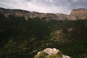 Point de vue du Cirque d'Archiane<br> Parc Naturel Régional du Vercors