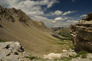 Col de la petite Cayolle<br> Parc Naturel National du Mercantour