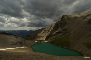 Le Lac de la petite Cayolle<br>