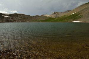 Le Lac des Garrets<br> Les Lacs de Cayolle<br> Parc Naturel National du Mercantour