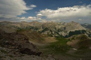 Le Pas du Lausson<br> Col de Cayolle<br> Parc Naturel National du Mercantour