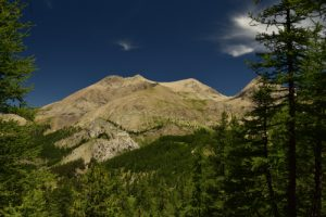 Le Mont Pelat<br> Le Lac d'Allos<br> Parc Naturel National du Mercantour