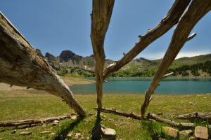 Le Lac d'Allos<br>