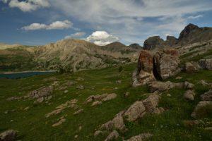 Le Lac d'Allos<br> Parc Naturel National du Mercantour