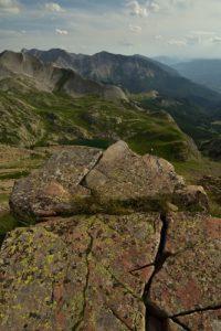 Le Col de l'Encombrette<br> Parc Naturel National du Mercantour