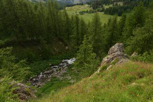 La Résurgence de la Serpentine<br> Le Lac d'Allos<br> Parc Naturel National du Mercantour