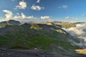 Point de vue de la Bonette<br> Col de la Bonette<br> Parc Naturel National du Mercantour