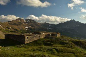 Caserne de Restefond<br> Col de la Bonette<br> Parc Naturel National du Mercantour
