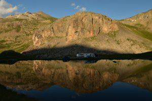 Lac des Eissaupres<br> Col de la Bonette<br> Parc Naturel National du Mercantour